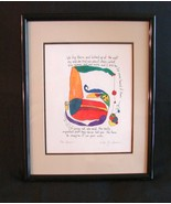 "Framed Print The Story People ""You have to Imagine it On Your Own"" - $4.99"