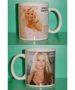 Jessica Simpson 2 Photo Designer Collectible Mug - $14.95