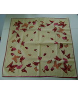 Vintage Scarf Featuring Butterflies - $8.00