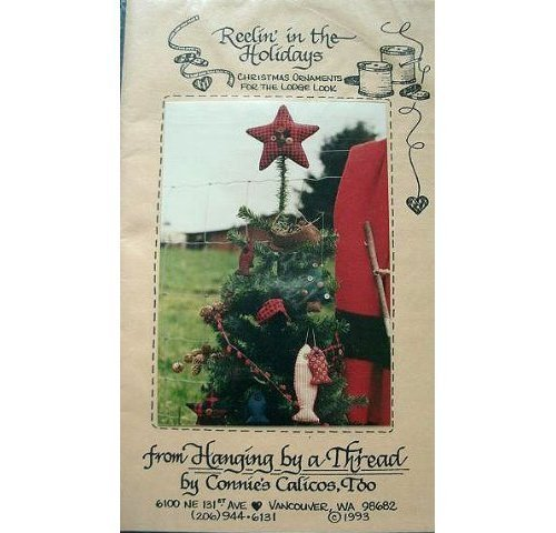Primary image for Christmas Lodge REELIN' IN THE HOLIDAYS Fishing Ornaments Pattern