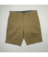 J Crew Stretch Short Cotton Beige Men Sz 32 x 10.5 Classic - $33.99