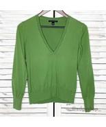 Banana Republic | V-Neck Cotton Pullover Sweater - $10.00
