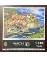 Master Pieces 1000 pc Shutter Speed puzzle 'Edge of the World' w/Poster ... - $10.05