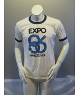 Vintage Graphic T-shirt - Expo 86 Vancouver BC official Logo - Men's Large  - $75.00