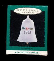 Hallmark Keepsake 1993 Holly Bell Ornament in Box - $6.95