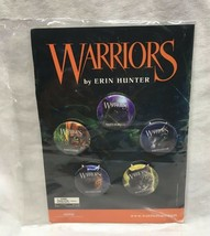 WARRIORS By Erin Hunter NYCC New York Comic Con EXCLUSIVE 5 PIN SET  - $14.85