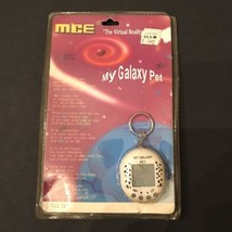 My Galaxy Pet MCE Electronic Virtual Pet Pocket Key Chain  1990's Model 727 - $16.95