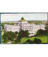 B.S. Reynolds, Early divided back, hand tinted postcard, Lib - $9.00