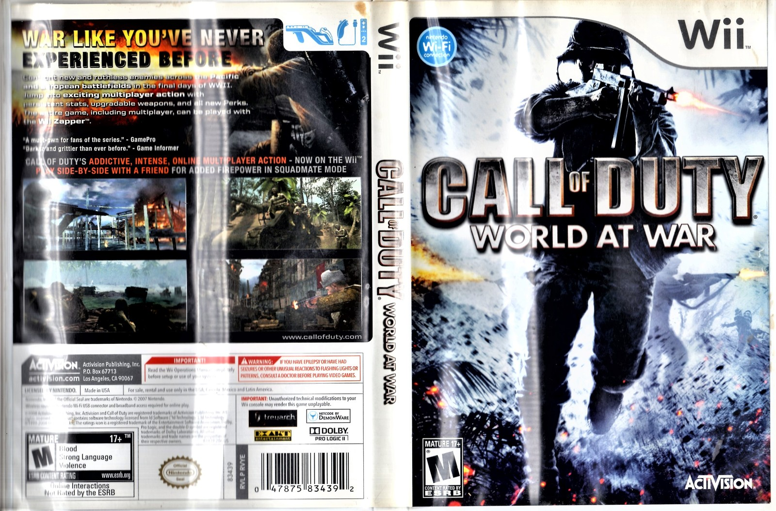 Wii - Call Of Duty World At War image 6