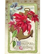 Christmas Greetings John Winsch Vintage Post Card - $6.00