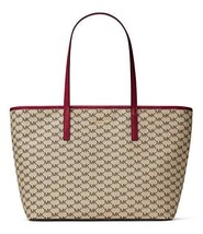 NWT Michael Kors Women's Emry Large Top Zip Tote, Natural Cherry - $155.87