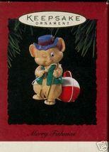 "Hallmark Keepsake 1994 ""Merry Fishmas"" Ornament in Box - $5.95"