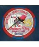 1997 Día de la Madre Boomtown Hotel Casino Verdi Nevada Rosa Roja Carta - $10.74