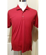 ADIDAS Mens Dri Wick Climalite GOLF Polo Sport Shirt Red Size Small & Me... - $19.99