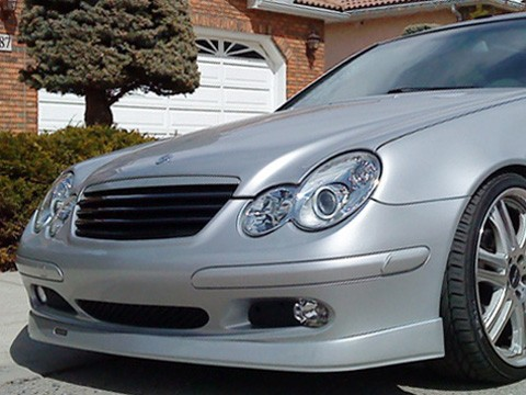 Grill Grille Fits Mercedes-Benz C-Class C230 C320 02-05 2002-2005 W203 Coupe