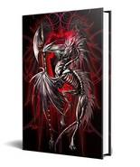 Dragon Fantasy LichBlade Skeleton Dragon Embossed Journal Diary Notebook... - $16.73