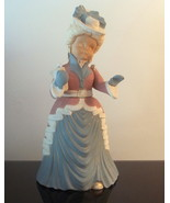 Vintage Christmas Caroler Woman Carol 14 inches... - $24.99