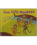 Five Silly Monkeys book illustrated Steve Haskamp published by Piggy Toe... - $4.00
