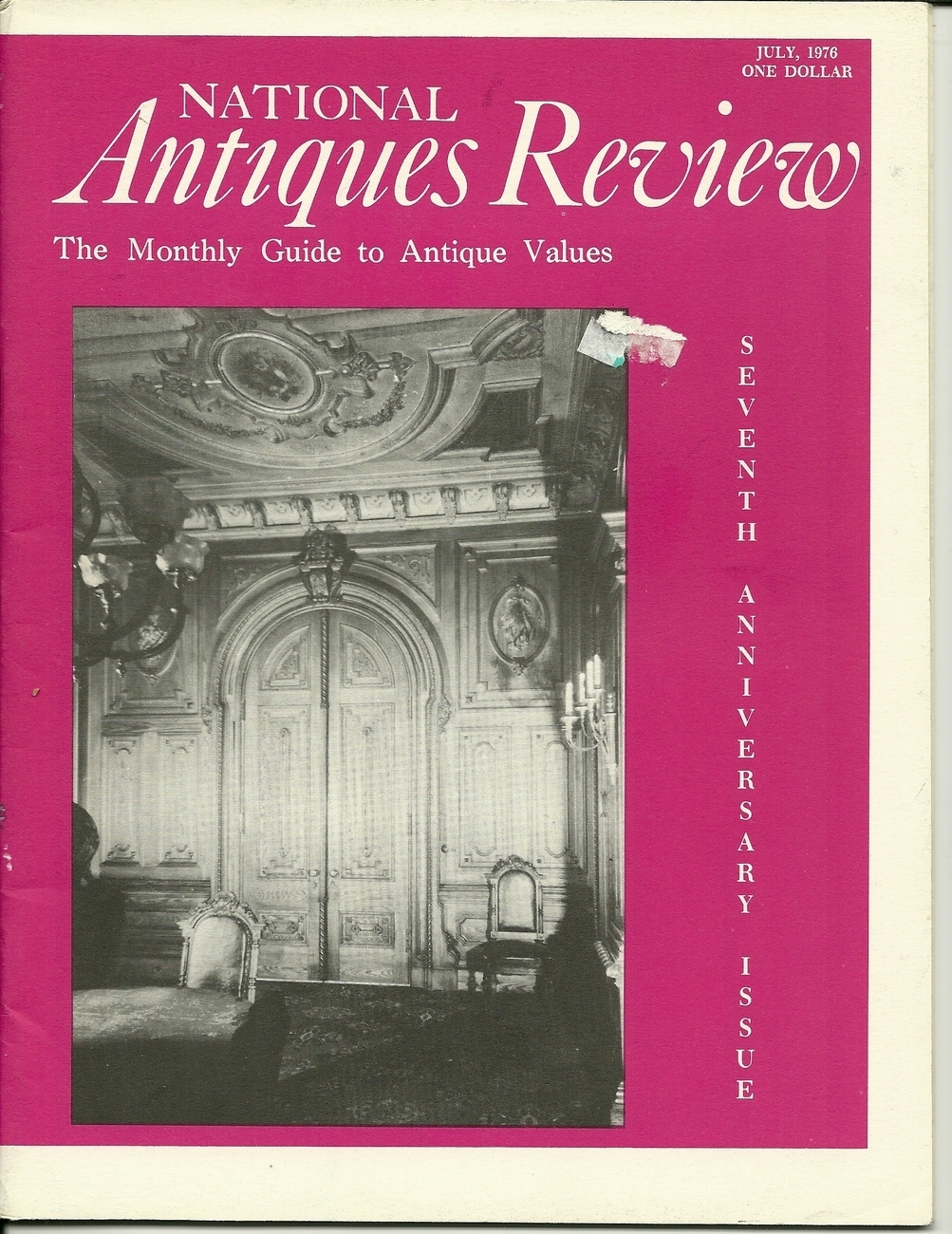 Antiques review july 1976  1