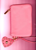 Torry  Burch Fashion Design Clutch Purse, Leather, Pink  image 2