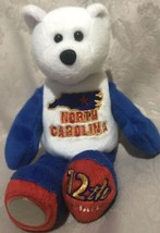 Limited Treasures State Quarters Coin Teddy Bear North Carolina #12 - $9.89