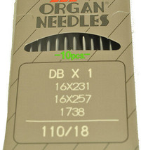 Organ Industrial Sewing Machine Needle 16X231-110 - $7.16
