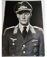 ORIGINAL WW2 GERMAN PHOTO: LUFTWAFFE OBERLEUTNANT PILOT W/ IRON CROSS 1s... - $12.50