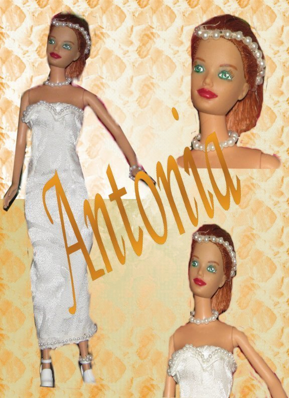 Fashion Doll Antonia OOAK Barbie