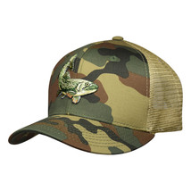Fishing Trucker Hat by LET'S BE IRIE - Camo Snapback - £14.66 GBP