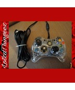 Faulty XBox 360 Afterglow Clear Wired Controller - For Parts / Repair - $16.92
