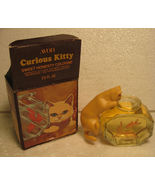 Avon Curious Kitty decanter with Hear's my Heart Cologne - $6.99