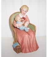 Homco/ Home Interiors Mother's Love Figurine w/Baby - $19.99