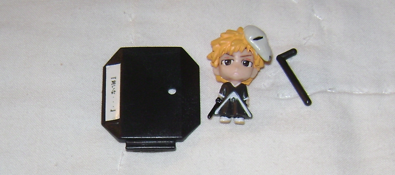 BLEACH ANIME MANGA FIGURE ICHIGO WITH STAND NEW NELIEL