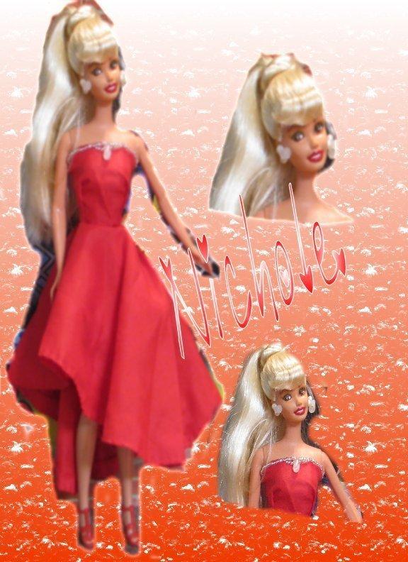 Fashion Doll Nichol OOAK Refashioned Barbie