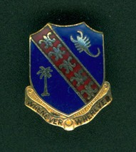 148th Field Artillery, Di, Dui, Unit Crest, Pin Back, Nhm - $5.95