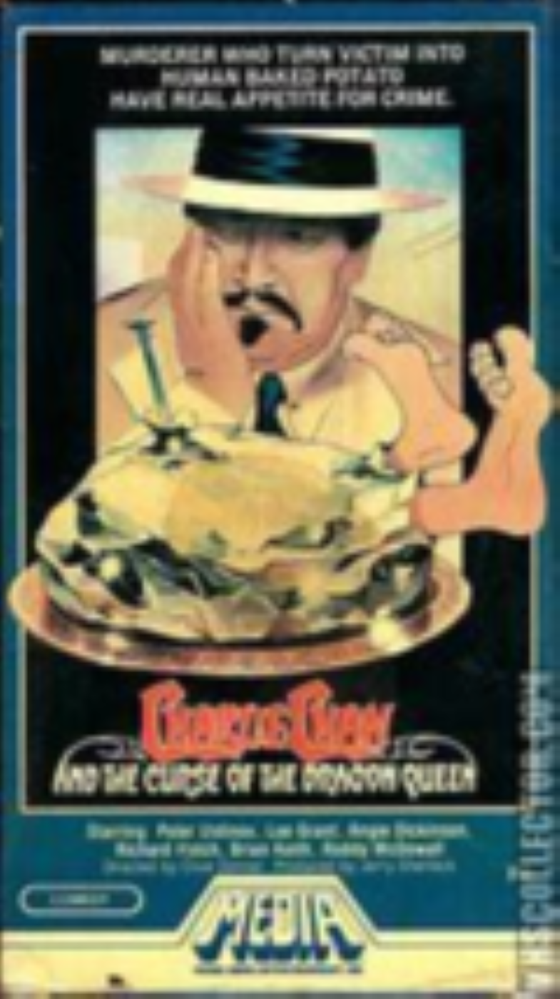 Charlie Chan and the Curse of the Dragon Queen Vhs