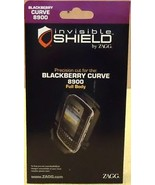 Zagg Invisible Shield Blackberry Curve 8900 Full Body Item A - $8.72