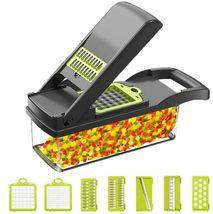 Vegetable Chopper and Mandoline Slicer Onion Chopper Potato Cutter w/ Co... - $60.00