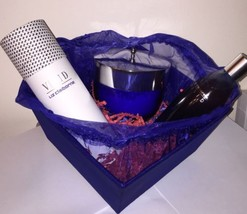 VIVID BY LIZ CLAIBORNE BODY LOTION, POWDER, GEL SET ~ New In Gift Box - $105.60