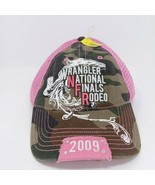 Wrangler National Finals Rodeo Hat NEW 2009 Pink Camo - $15.85