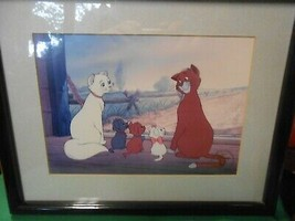 Great Collectible Disney Picture- Plastic Frame The Aristocrats 1996 - $24.34