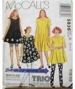 5836 Maternity Dress Tunic Leggings Size 8-12 NEW - $3.99