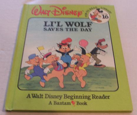 Walt Disney Li'l Wolf Saves the Day Vol .16