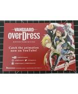 Promotional Card Vanguard Overdress anime series - $4.99
