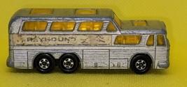 Vintage Lesney Superfast Matchbox No.66 Greyhound Coach Die Cast Metal Toy Bus - $12.62