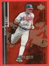 2001 Upper Deck Black Diamond #49 Andruw Jones baseball card - $0.01