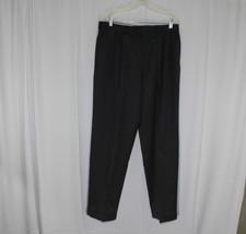 RALPH LAUREN 120's & Cashmere Dress Pants Slacks  34x30.5 Gray Pleated C... - $12.00