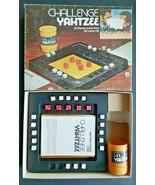 1974 Challenge Yahtzee Board GameMilton Bradley Missing 2 White Dice O    - £7.31 GBP