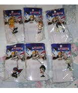 BLEACH KEYCHAIN FULL SET OF 6 IMPORTED FROM JAPAN NEW! - $9.95