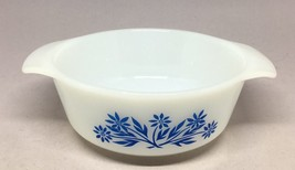 Vintage 12 oz FIRE KING Blue Cornflower #472 Anchor Hocking Ovenware no lid - $9.50